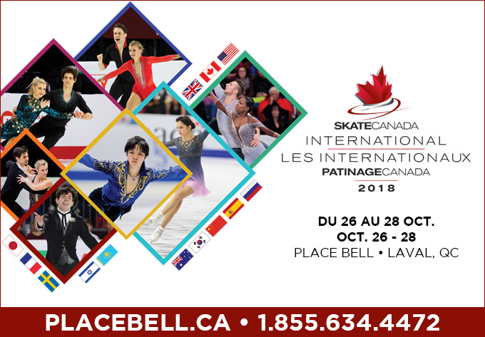 Les Internationaux Patinage Canada - 25 octobre 2018, Laval