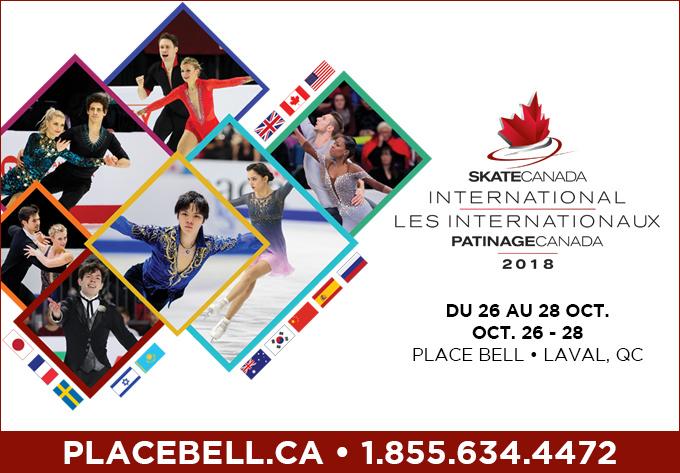 Les Internationaux Patinage Canada - 27 octobre 2018, Laval