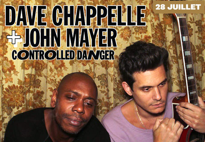 Dave Chappelle & John Mayer: Controlled Danger - July 28, 2018, Montreal