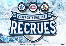 Confrontation des recrues LNH 2018 - MONTRÉAL vs OTTAWA