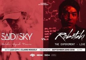Robotaki vs. Said The Sky