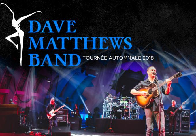 Dave Matthews Band - 8 décembre 2018, Montréal