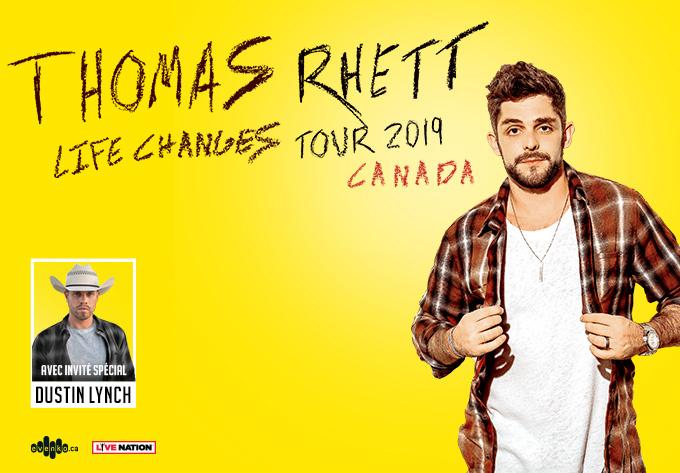 Thomas Rhett - April 24, 2019, Montreal