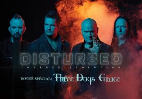 Disturbed - Tournée Mondiale Evolution