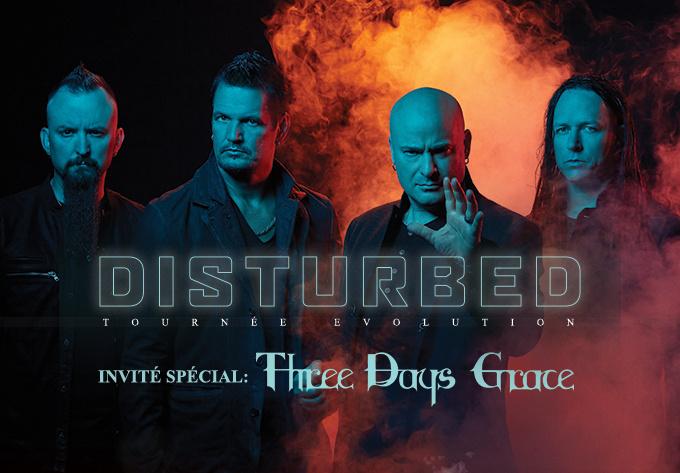Disturbed - Evolution World Tour - March  1, 2019, Laval