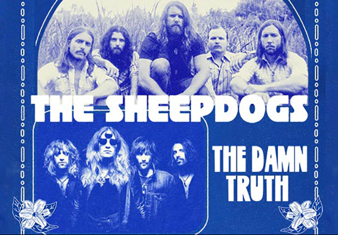 The Sheepdogs & The Damn Truth - January 25, 2019, Montreal