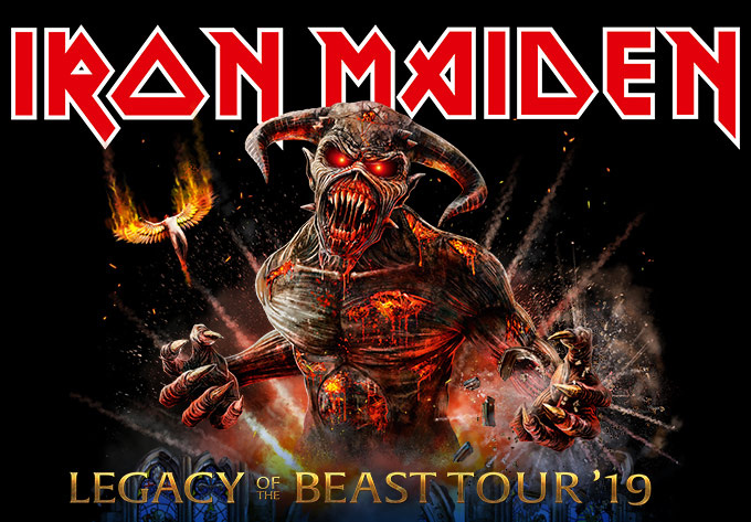Iron Maiden - August  5, 2019, Montreal