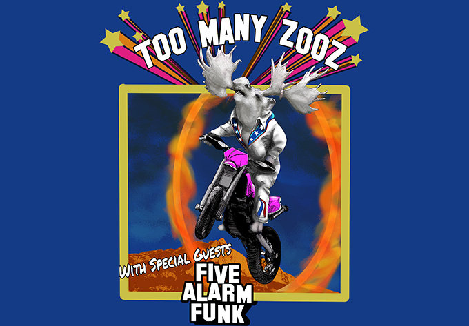 Too Many Zooz + Five Alarm Funk - 7 mars 2019, Montréal