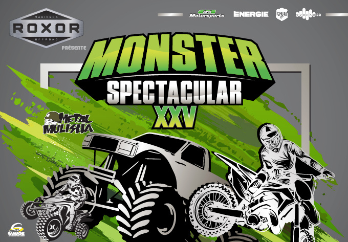 Monster Spectacular XXV - 6 avril 2019, Montréal