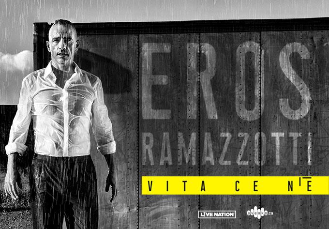 Eros Ramazzotti - 9 mars 2020, Laval