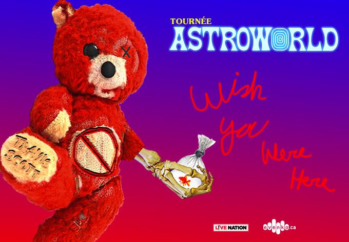 Travis Scott: Astroworld - 5 mars 2019, Montréal