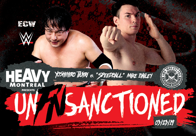 IWS UnFnSanctioned - March 23, 2019, Montreal