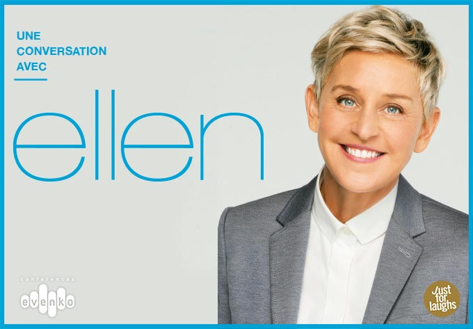 Ellen DeGeneres - March  1, 2019, Montreal