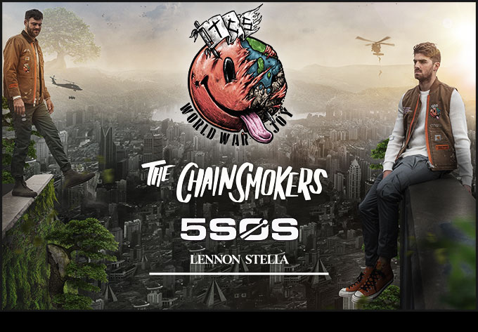 The Chainsmokers - October  9, 2019, Montreal