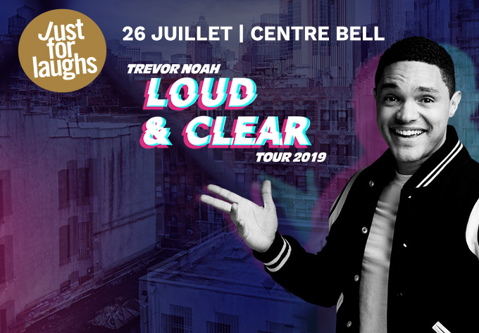 Trevor Noah - July 26, 2019, Montreal