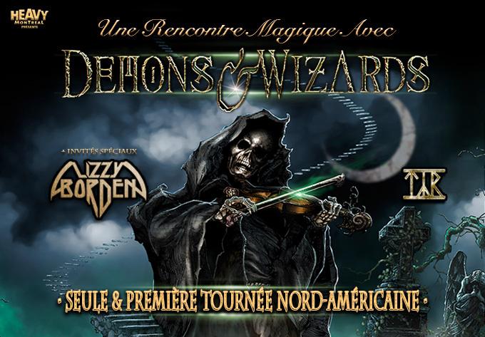 Demons & Wizards - September  1, 2019, Montreal