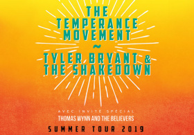 The Temperance Movement +Tyler Bryant & The Shakedown