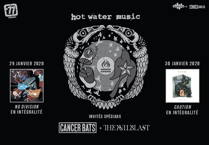 Hot Water Music - 30 janvier 2020, Montréal