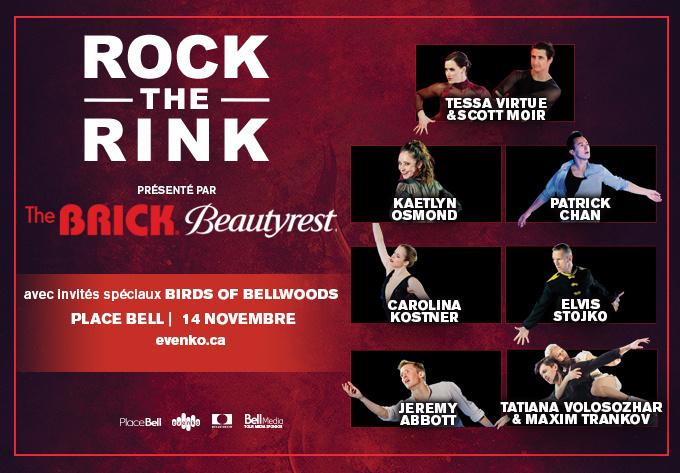 Rock the Rink - November 14, 2019, Laval
