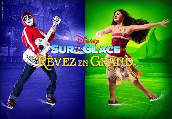 Disney sur Glace présente Rêvez en grand! - 13 octobre 2019, Laval