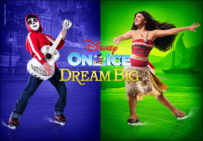 Disney On Ice presents Dream Big! (in English) - October 14, 2019, Laval