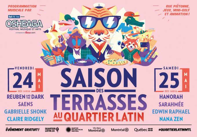 OSHEAGA X St-Denis - May 24, 2019, Montreal