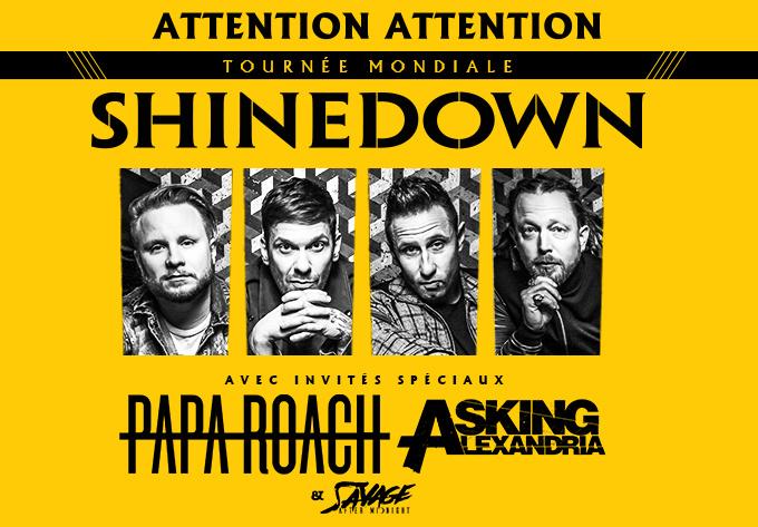 Shinedown - September 24, 2019, Laval