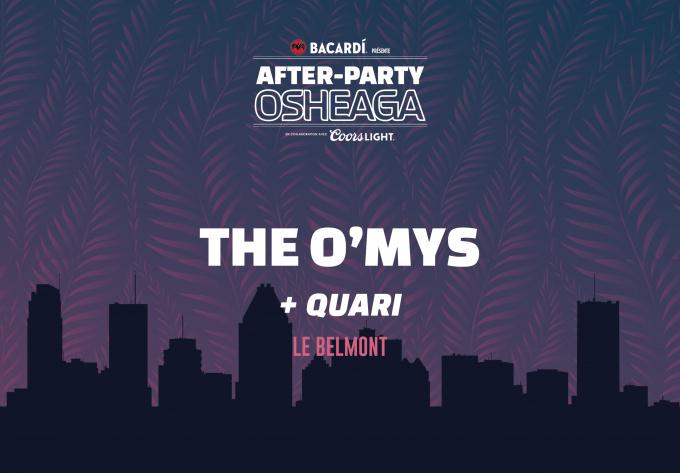 The O'My's - 2 août 2019, Montréal