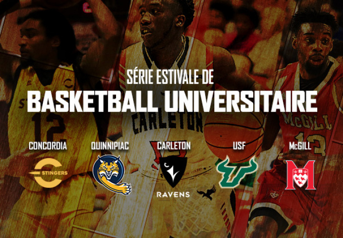 University Basketball - August  7, 2019, Laval
