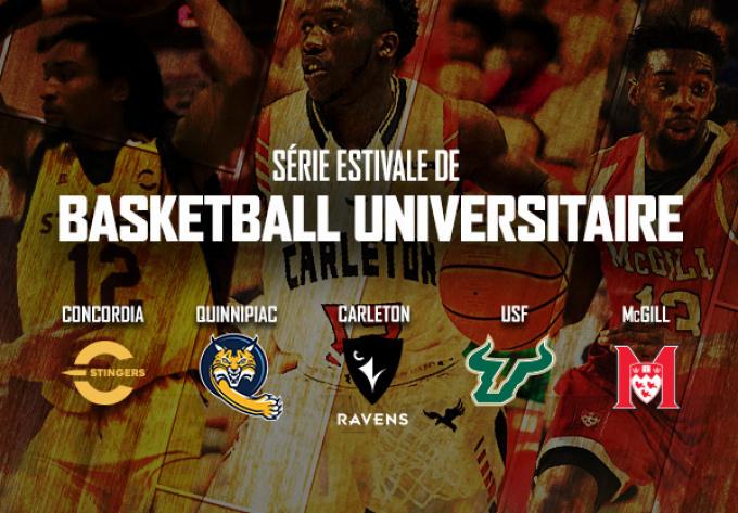 Basketball Universitaire - 7 août 2019, Laval