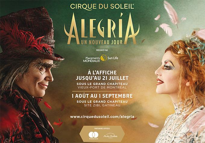 Cirque du Soleil - Alegria - 21 juillet 2019, Montréal