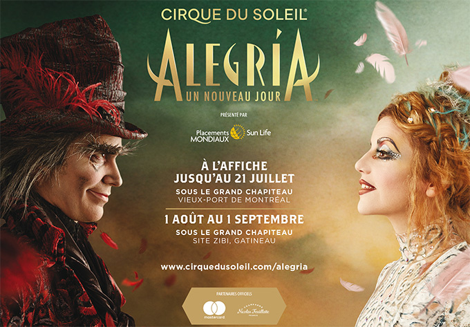Cirque du Soleil - Alegria - August 28, 2019, Gatineau