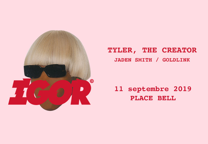 Tyler, The Creator - 11 septembre 2019, Laval