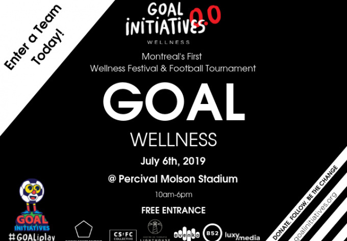 GOAL Wellness  - July  6, 2019, Montreal