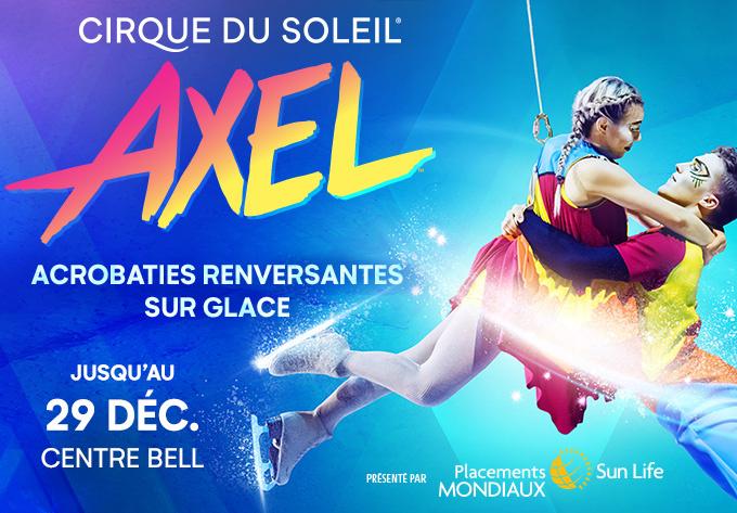 Cirque du Soleil - Axel - 27 décembre 2019, Montréal