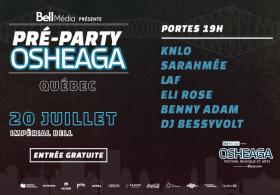 Pré-Party Osheaga Officiel