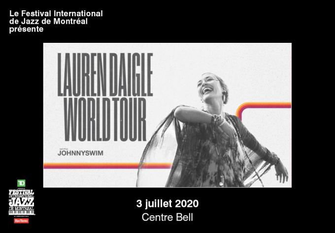 Lauren Daigle - July  3, 2020, Montreal
