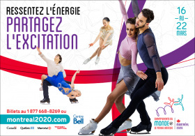 Championnats du Monde ISU de Patinage Artistique 2020
