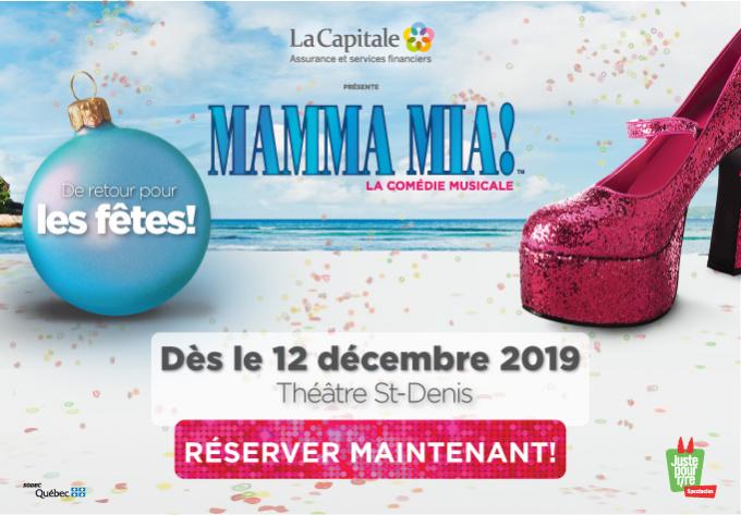 Mamma Mia! - December 12, 2019, Montreal