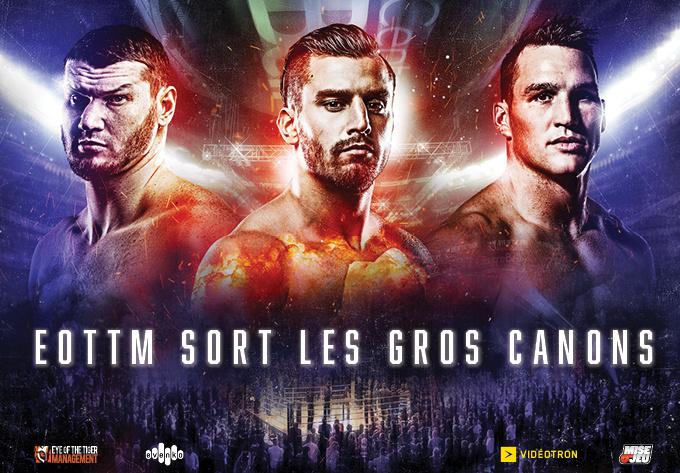 EOTTM sort les Gros Canons - 7 décembre 2019, Montréal