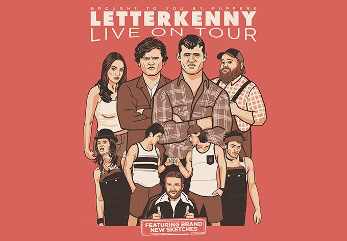Letterkenny Live! - 27 février 2020, Moncton
