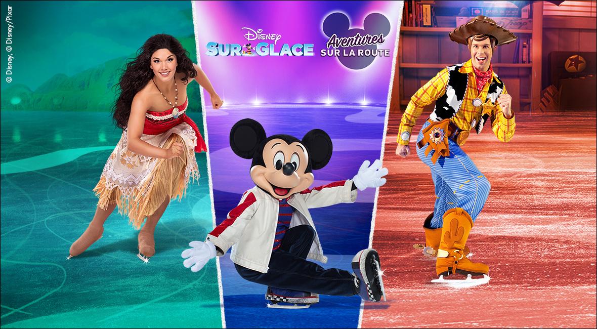 Disney sur glace présente Aventures sur la route