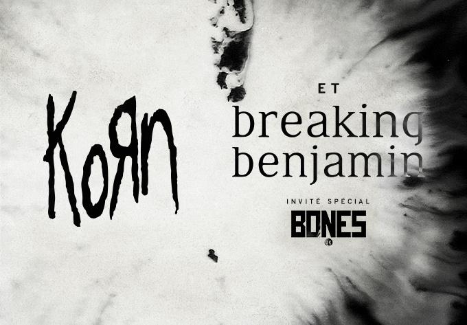 Korn & Breaking Benjamin - 28 janvier 2020, Montréal