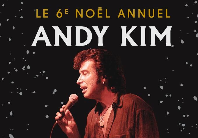 Andy Kim Christmas - December 13, 2019, Montreal