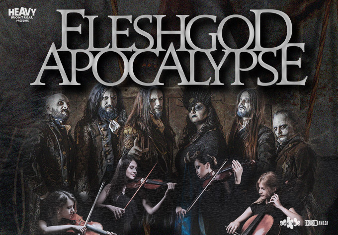 Fleshgod Apocalypse Feat. The Veleno Classical Quartet - Montréal