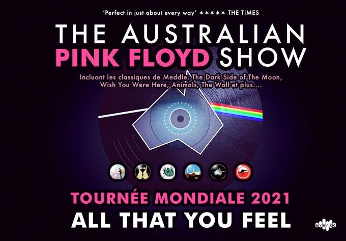 The Australian Pink Floyd Show - September 19, 2021, Trois-Rivières