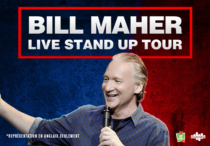 Bill Maher - August 14, 2021, Montreal
