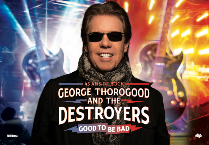George Thorogood & The Destroyers - 20 mai 2021, Montréal