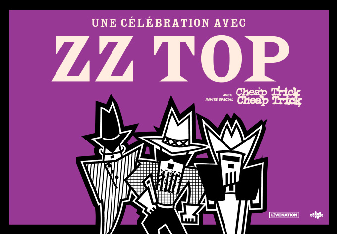 ZZ Top - May  9, 2021, Laval