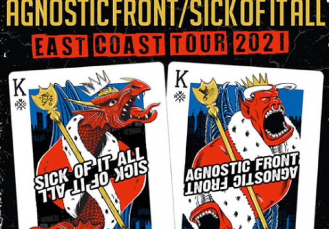 Agnostic Front + Sick of it All - April 25, 2020, Montreal